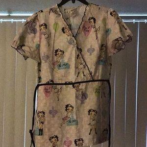Betty Boop Scrub tops